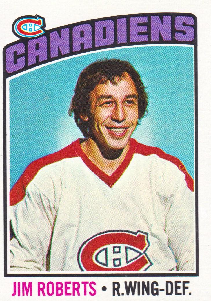 1976-77 Topps #119 Jim Roberts