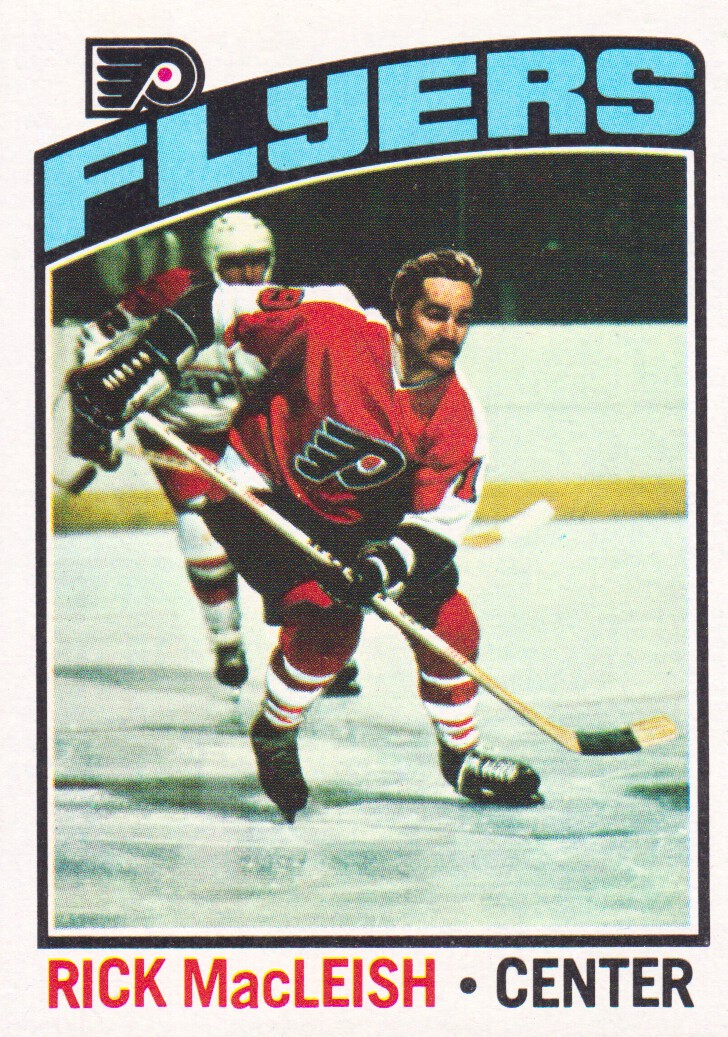 1976-77 Topps #121 Rick MacLeish