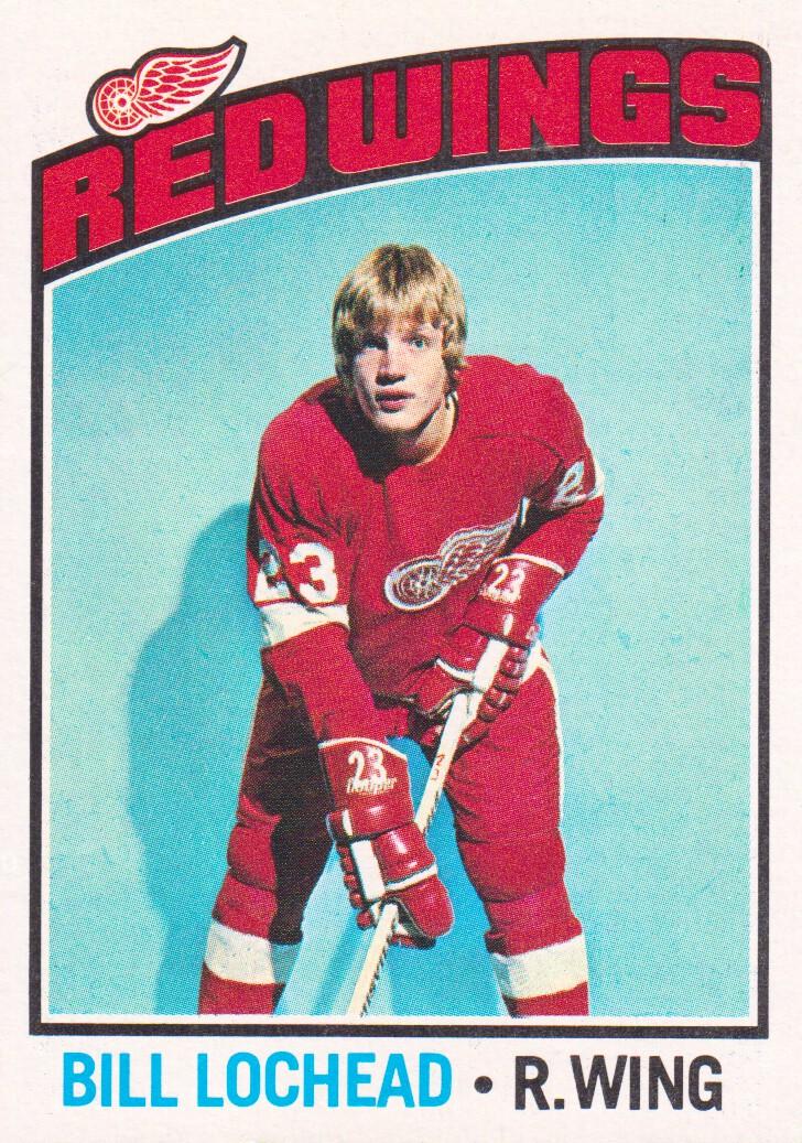 1976-77 Topps #122 Billy Lochead