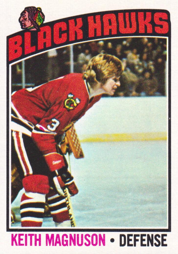 1976-77 Topps #125 Keith Magnuson