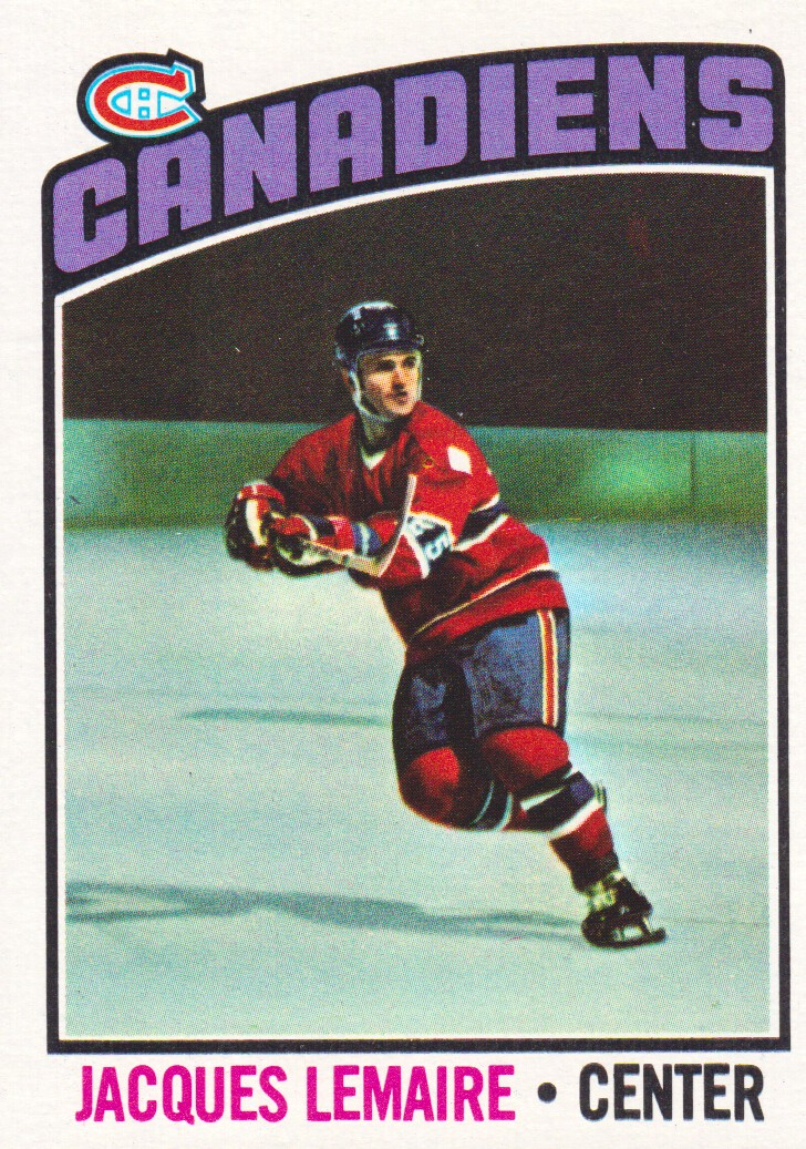 1976-77 Topps #129 Jacques Lemaire