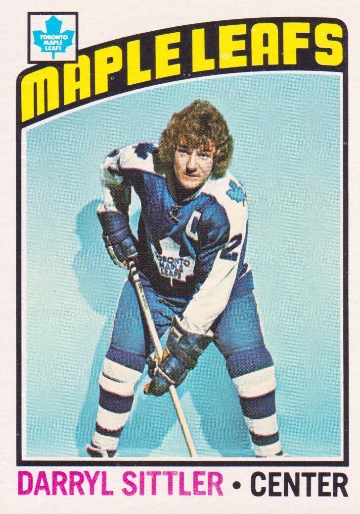 1976-77 Topps #207 Darryl Sittler