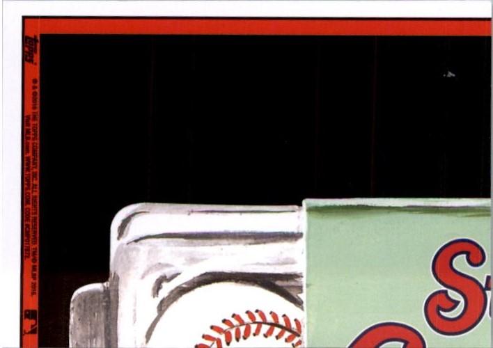 2016 Wacky Packages MLB Grass #18 Diamondbacks Back Scratcher back image