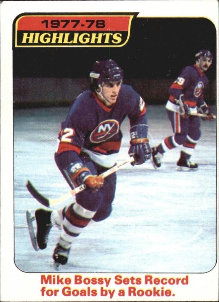 1978-79 Topps #1 Mike Bossy HL