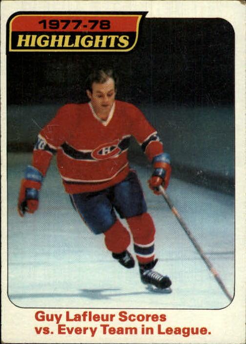 1978-79 Topps #3 Guy Lafleur HL