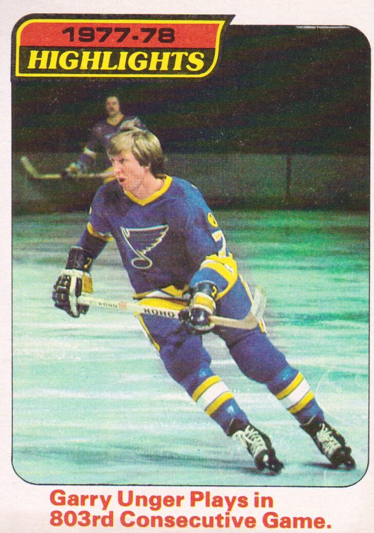 1978-79 Topps #5 Garry Unger HL