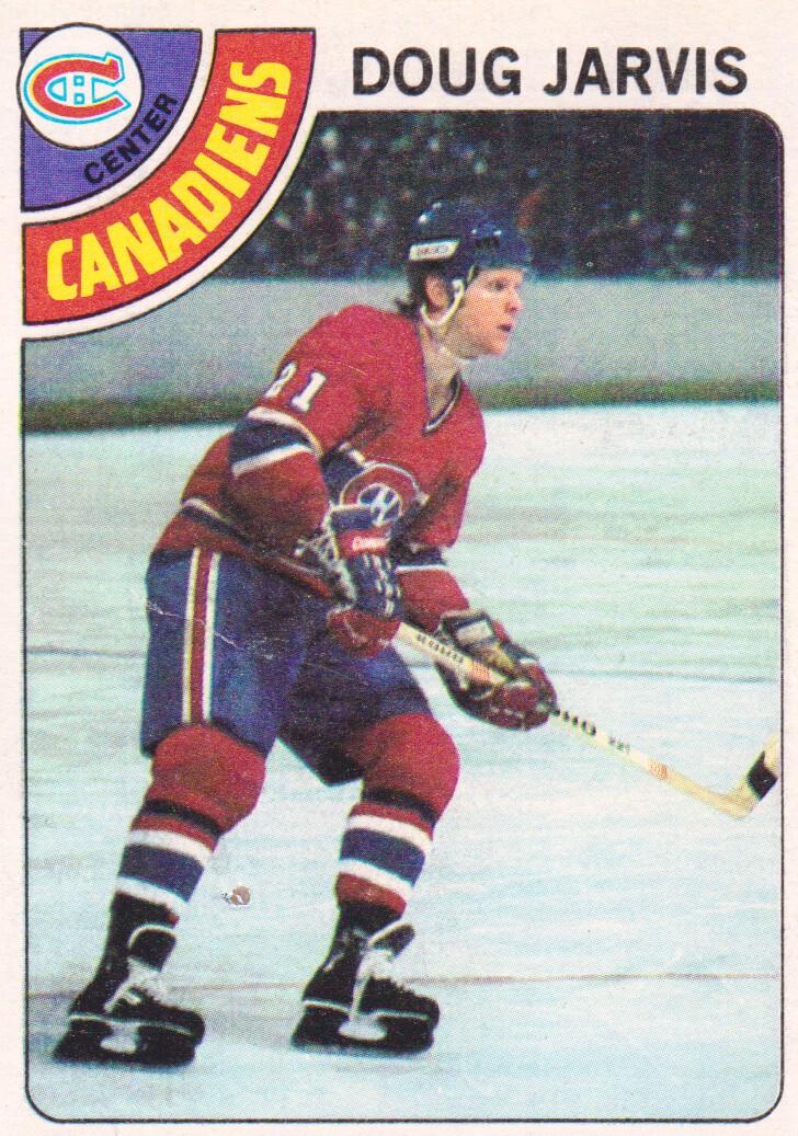 1978-79 Topps #13 Doug Jarvis