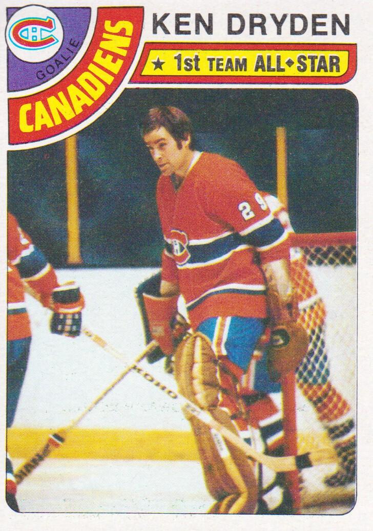 1978-79 Topps #50 Ken Dryden AS1