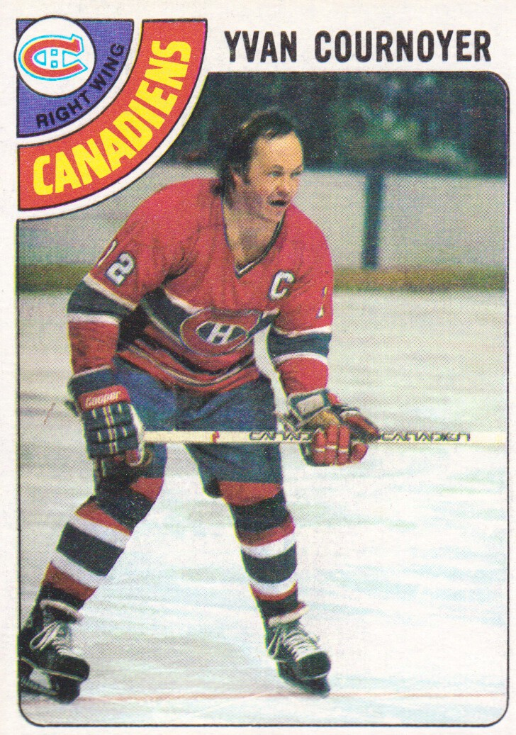1978-79 Topps #60 Yvan Cournoyer