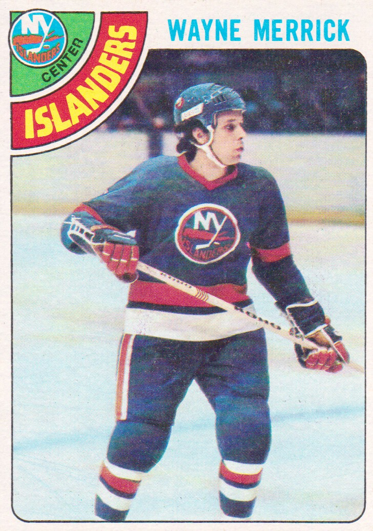 1978-79 Topps #258 Wayne Merrick
