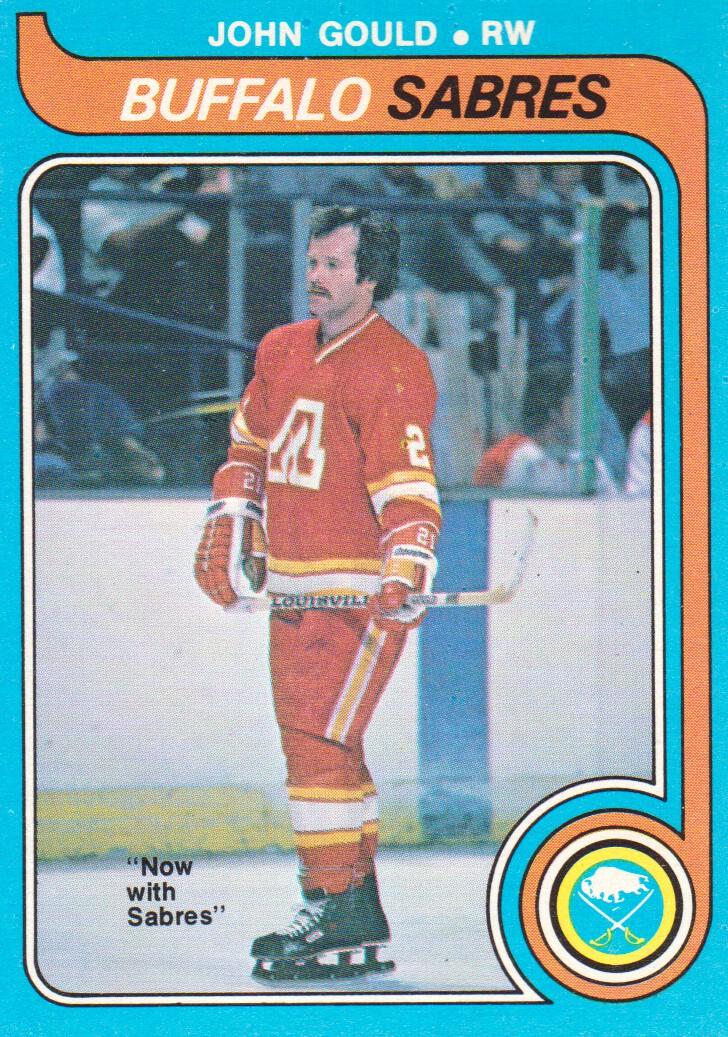 1979-80 O-Pee-Chee #282 John Gould