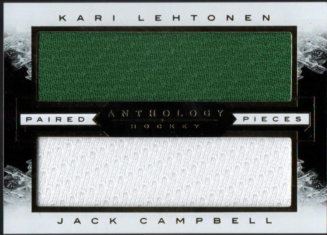 2015-16 Panini Anthology Paired Pieces #45 Kari Lehtonen/Jack Campbell/165