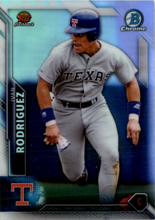 2016 Bowman Baseball Rookie Recollections RC Flashback Complete Set