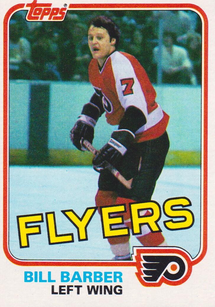 1981-82 Topps #2 Bill Barber
