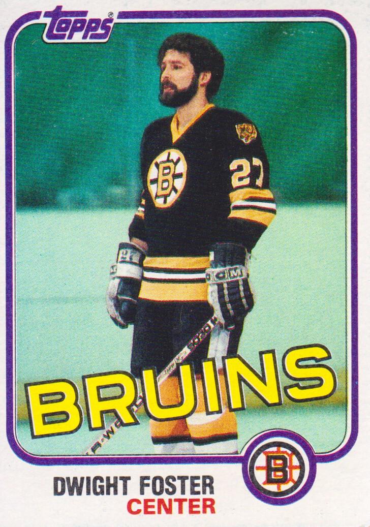 1981-82 Topps #E67 Dwight Foster