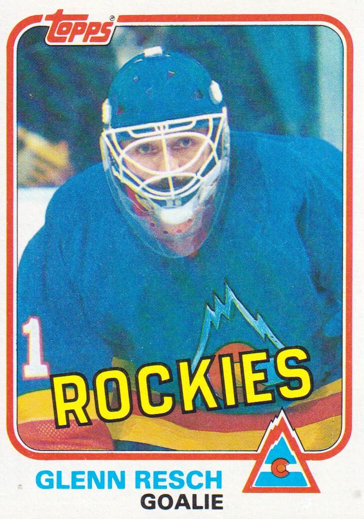 1981-82 Topps #W85 Glenn Resch