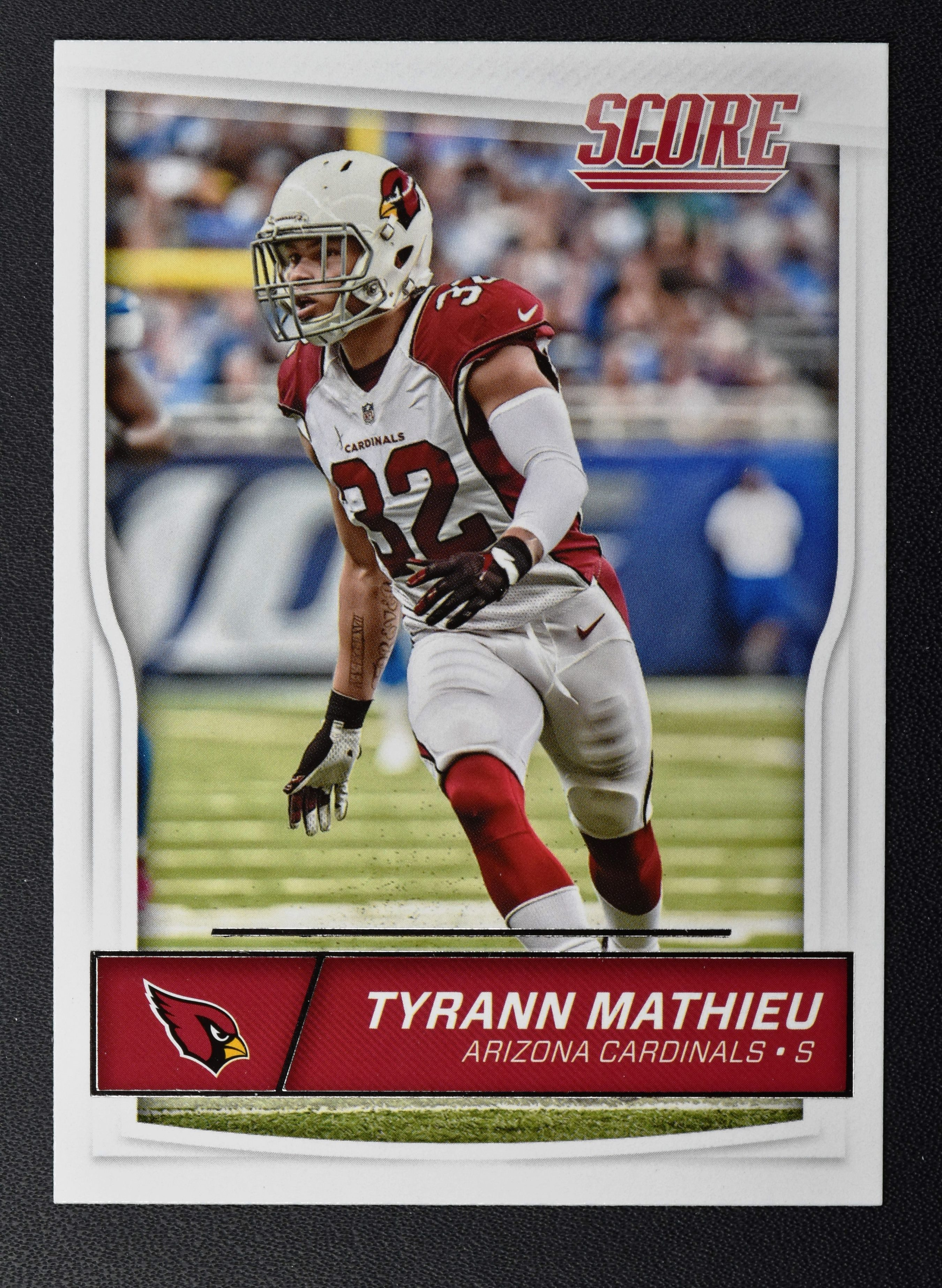 2016 Score 10 Tyrann Mathieu NM MT