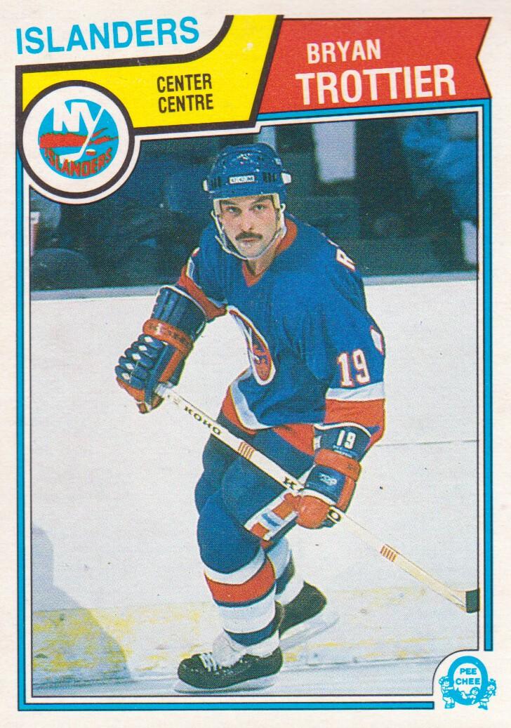 1983-84 O-Pee-Chee #21 Bryan Trottier
