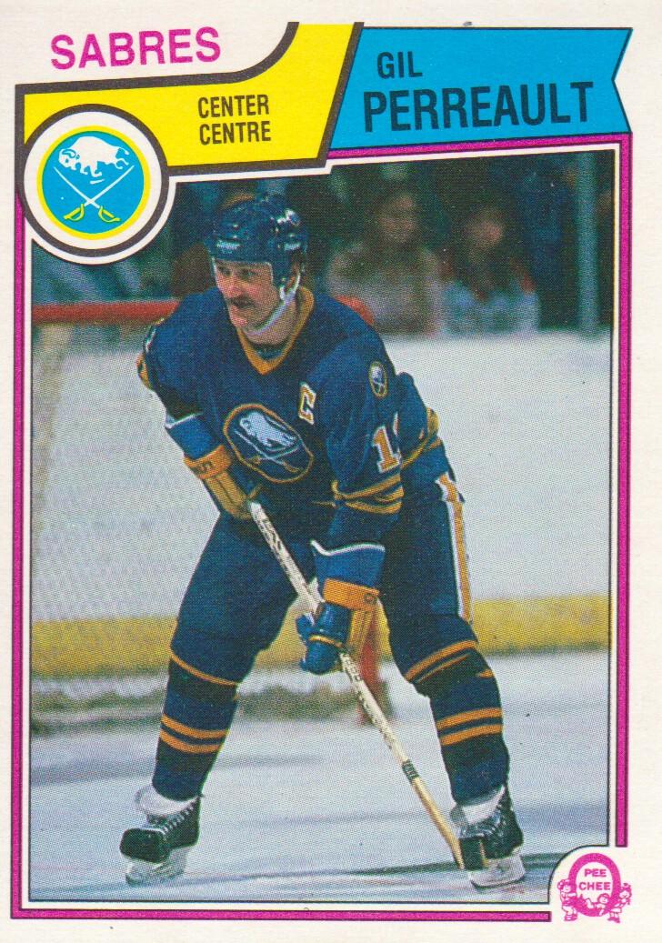 1983-84 O-Pee-Chee #67 Gilbert Perreault