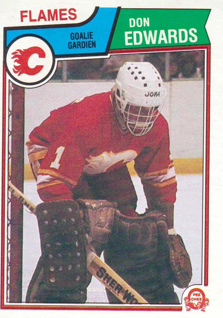 1983-84 O-Pee-Chee #80 Don Edwards