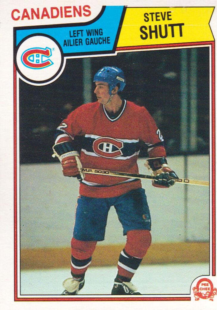 1983-84 O-Pee-Chee #198 Steve Shutt