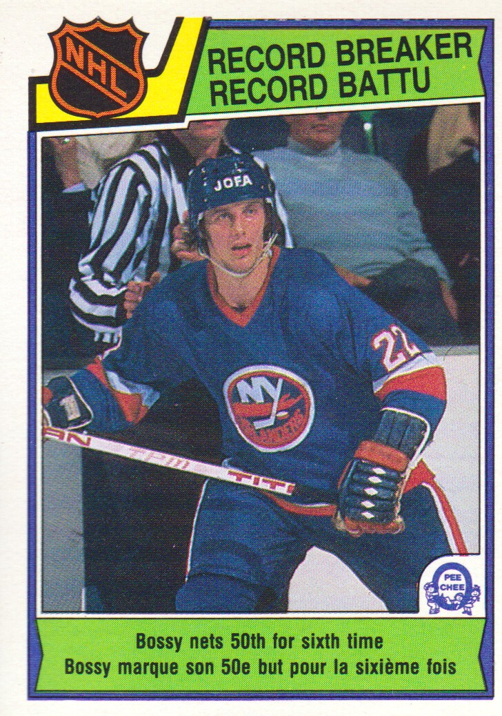 1983-84 O-Pee-Chee #210 Mike Bossy RB