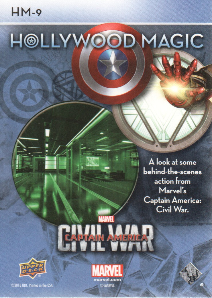 Captain America Civil War Insert Trading Card Off The Grid #OGB1 Crossbones