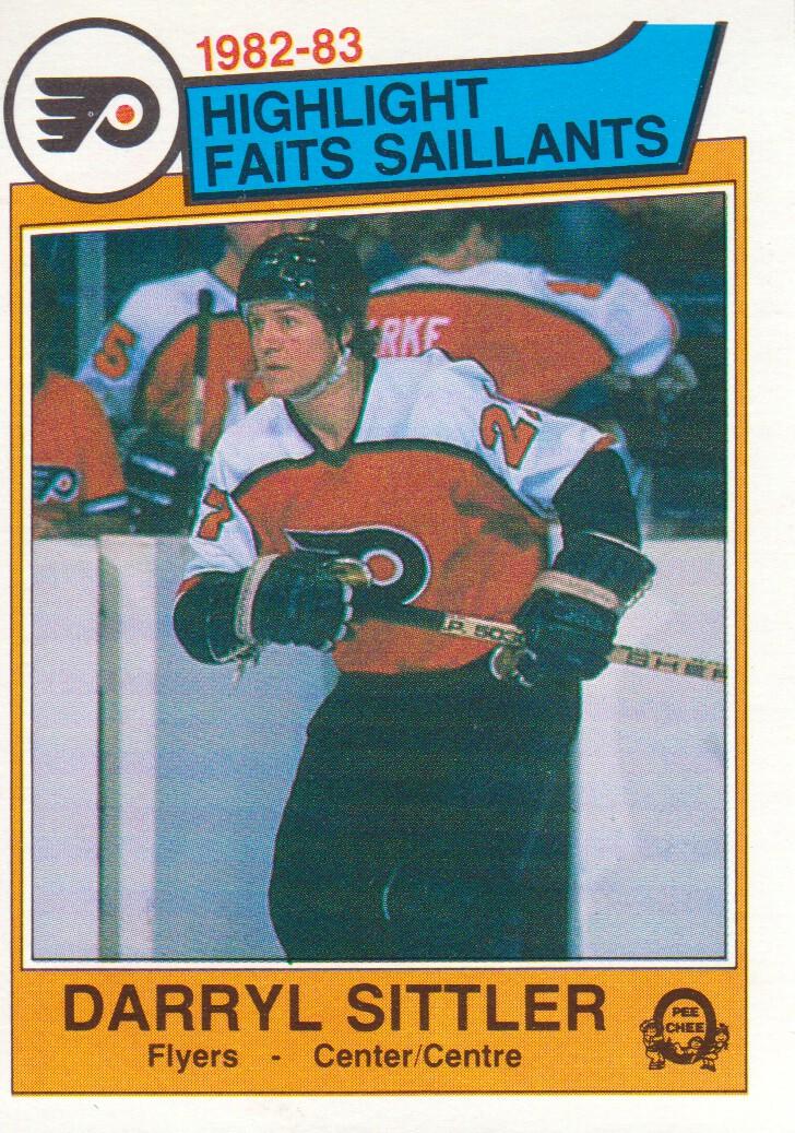 1983-84 O-Pee-Chee #258 Darryl Sittler HL