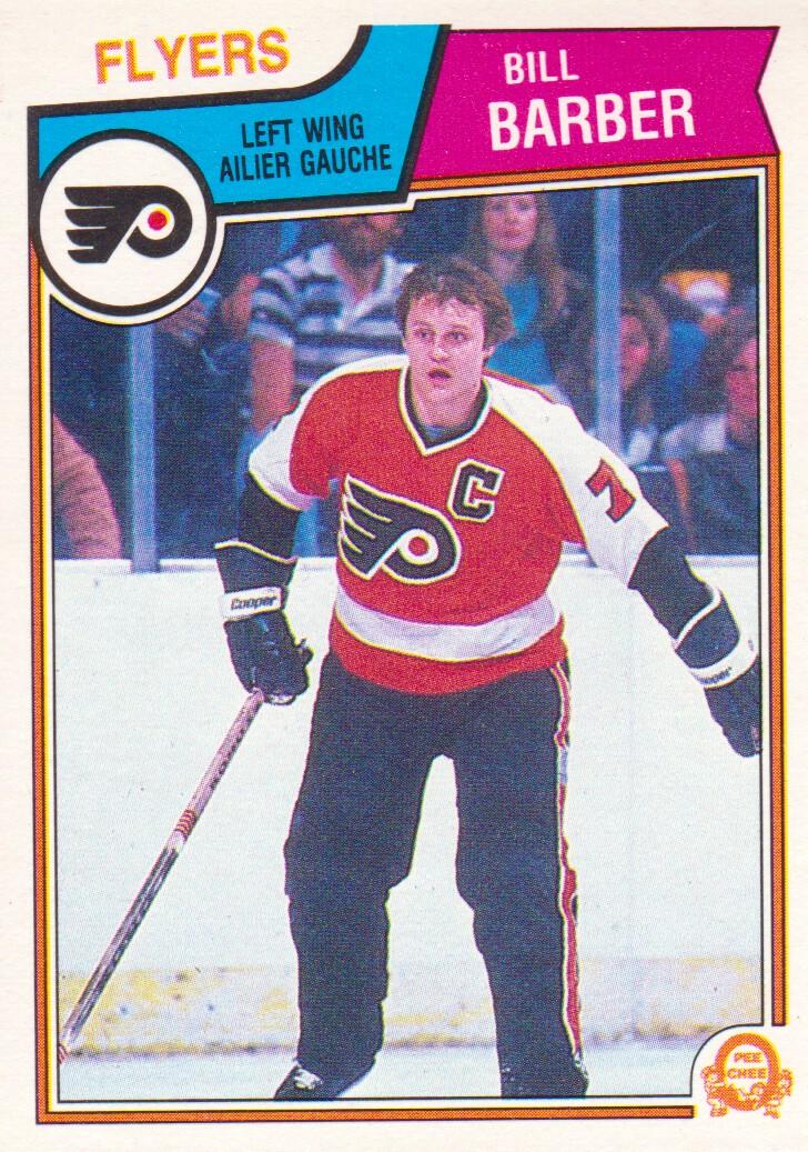1983-84 O-Pee-Chee #260 Bill Barber