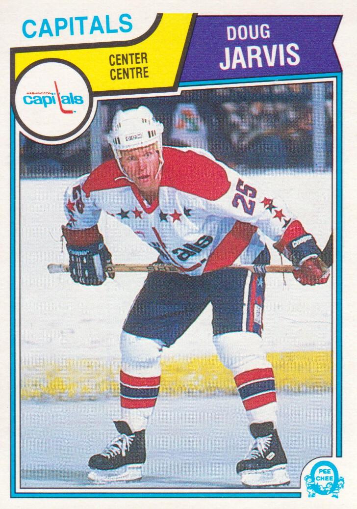 1983-84 O-Pee-Chee #372 Doug Jarvis