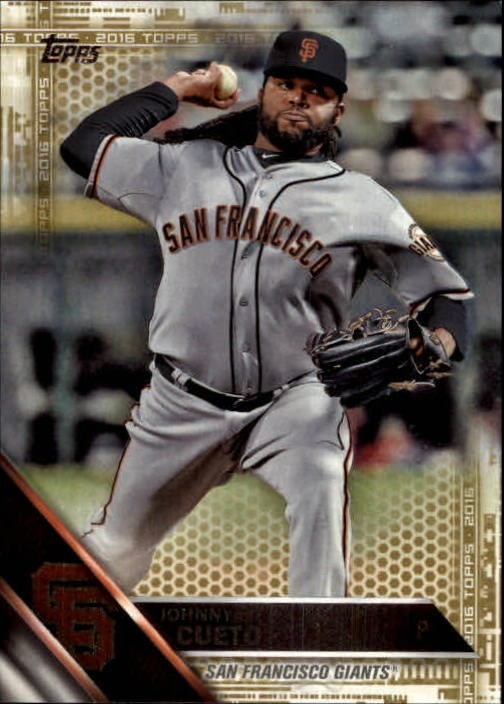2016 Topps Gold #416 Johnny Cueto