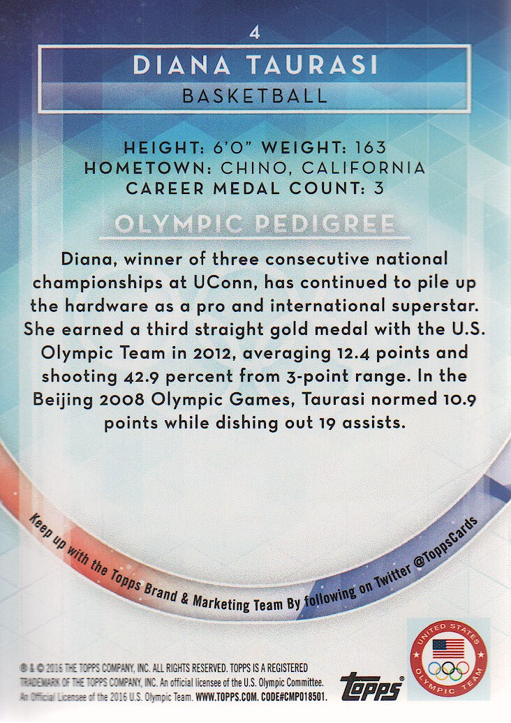 2016-Topps-U-S-Olympic-Team-Trading-Cards-Pick-From-List thumbnail 68