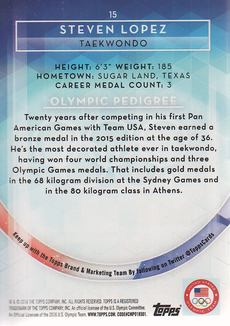 2016-Topps-U-S-Olympic-Team-Trading-Cards-Pick-From-List thumbnail 86