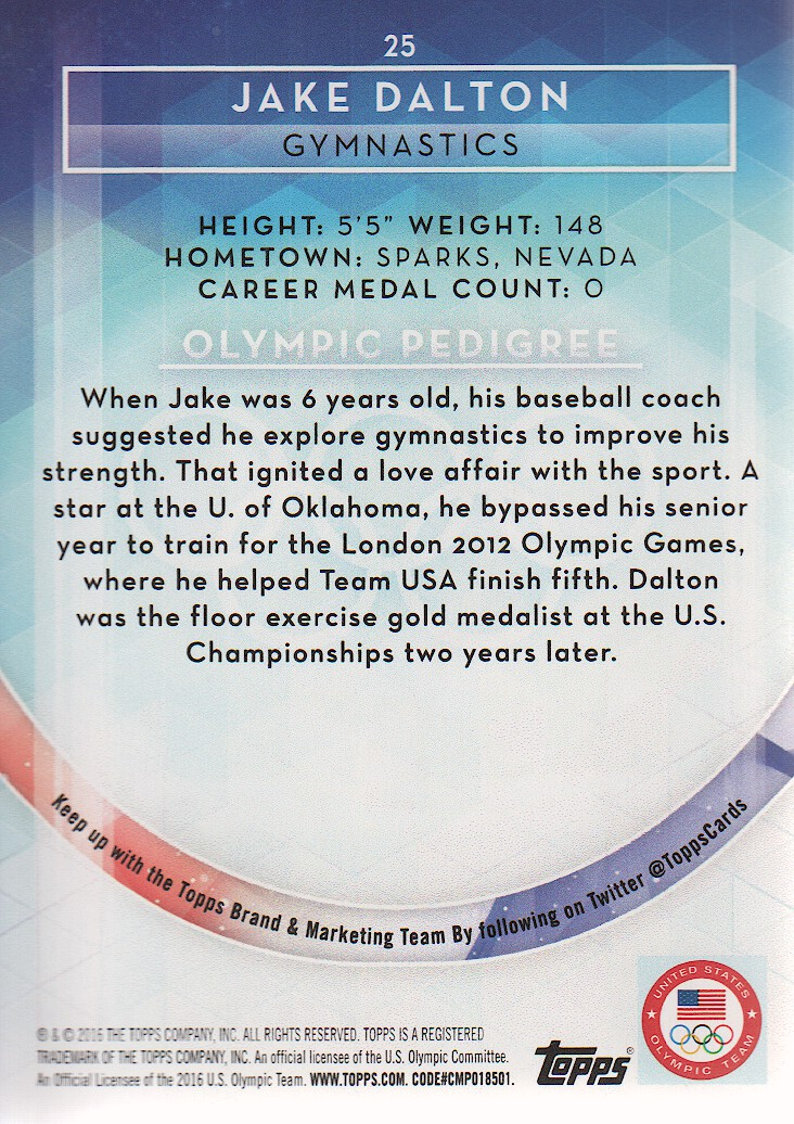 2016-Topps-U-S-Olympic-Team-Trading-Cards-Pick-From-List thumbnail 106