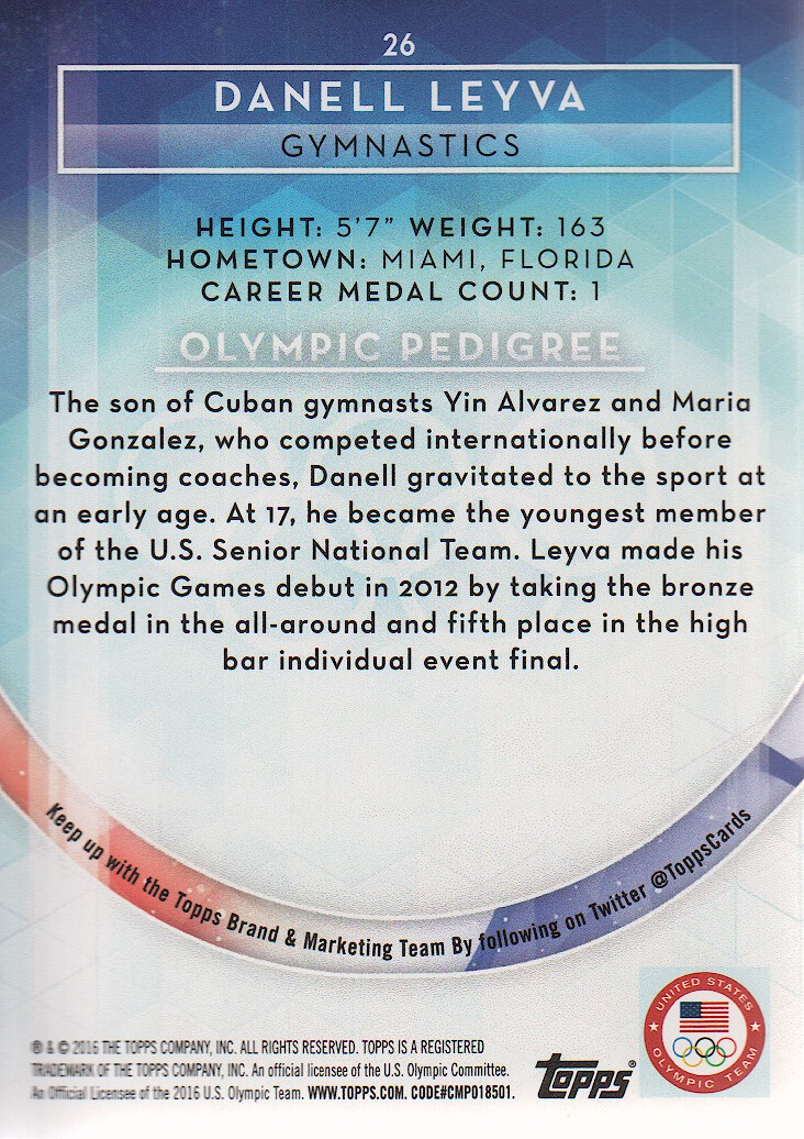 2016-Topps-U-S-Olympic-Team-Trading-Cards-Pick-From-List thumbnail 108