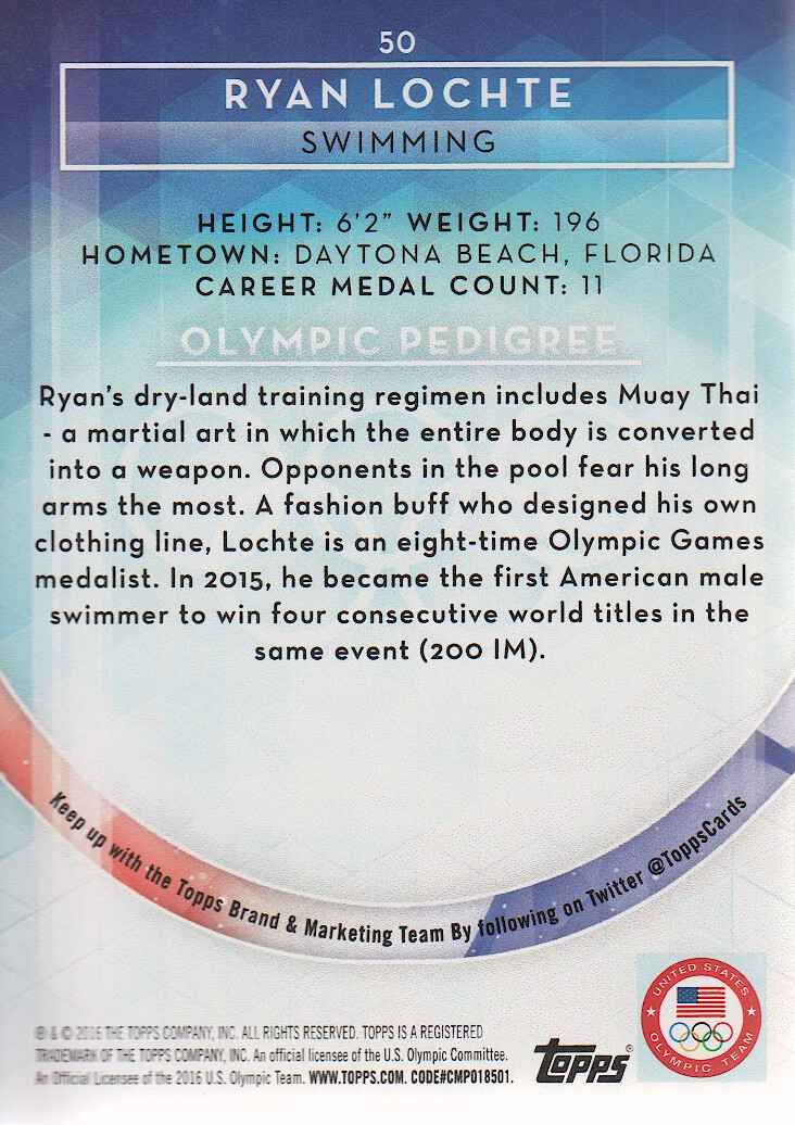 2016-Topps-U-S-Olympic-Team-Trading-Cards-Pick-From-List thumbnail 152
