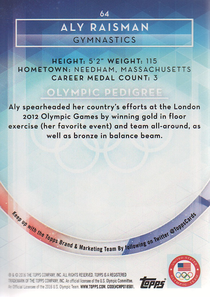 2016-Topps-U-S-Olympic-Team-Trading-Cards-Pick-From-List thumbnail 180