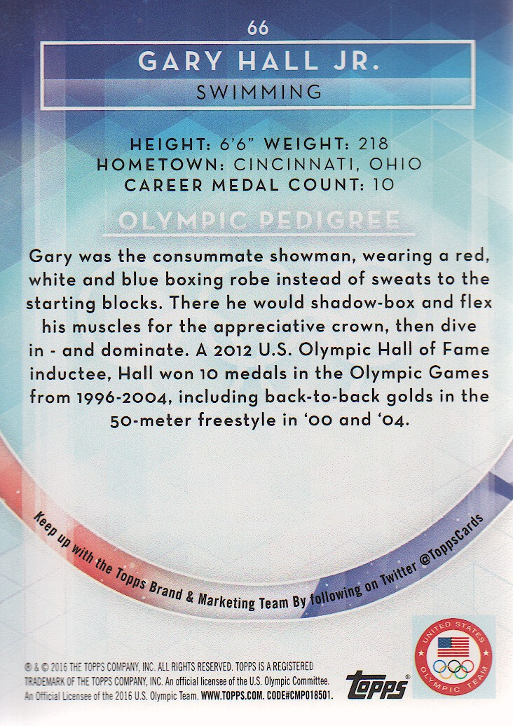 2016-Topps-U-S-Olympic-Team-Trading-Cards-Pick-From-List thumbnail 184