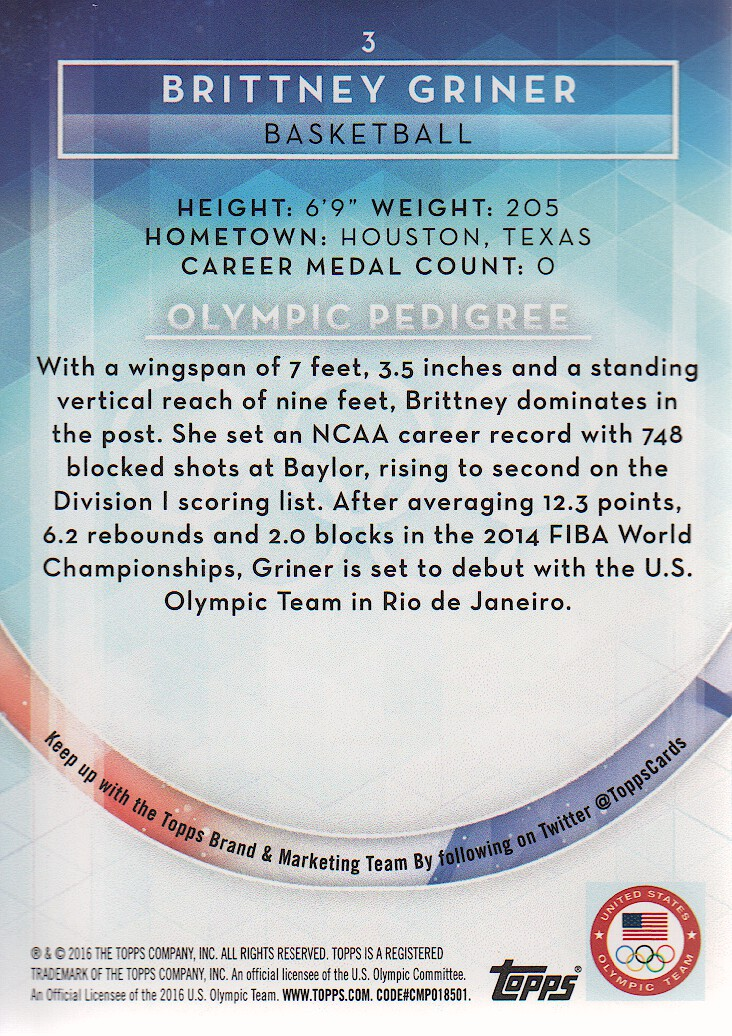2016-Topps-U-S-Olympic-Team-Trading-Cards-Pick-From-List thumbnail 204
