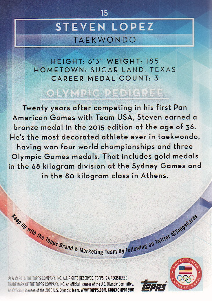 2016-Topps-U-S-Olympic-Team-Trading-Cards-Pick-From-List thumbnail 228