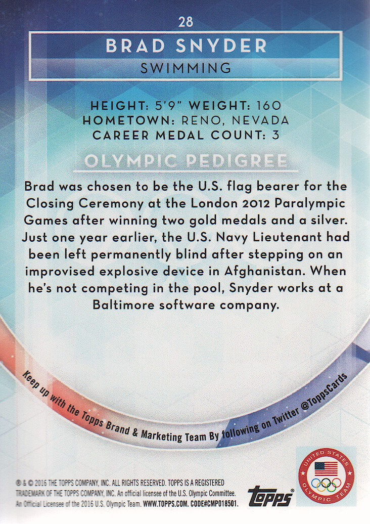2016-Topps-U-S-Olympic-Team-Trading-Cards-Pick-From-List thumbnail 254