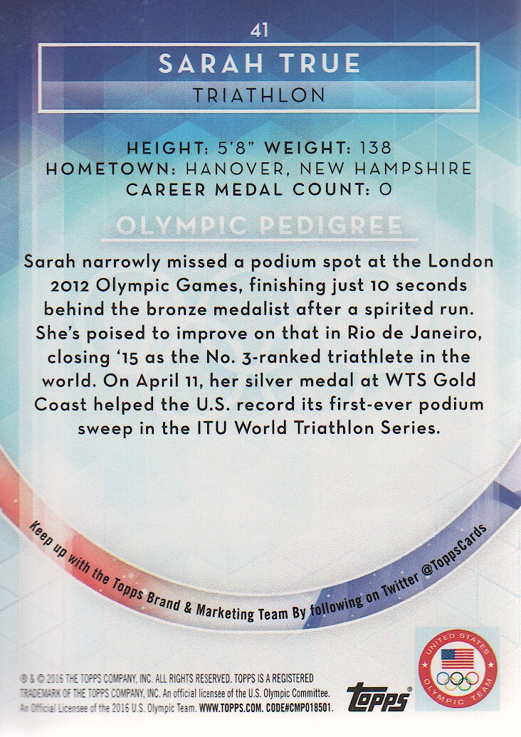 2016-Topps-U-S-Olympic-Team-Trading-Cards-Pick-From-List thumbnail 276
