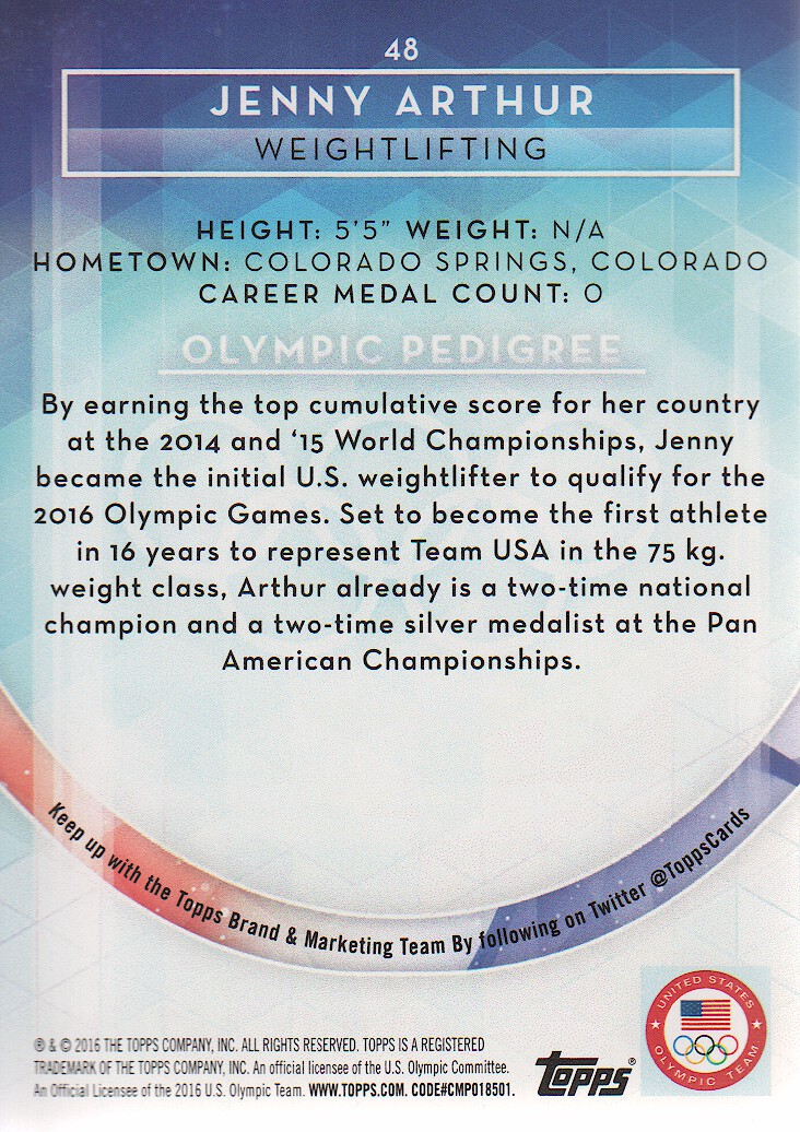 2016-Topps-U-S-Olympic-Team-Trading-Cards-Pick-From-List thumbnail 290