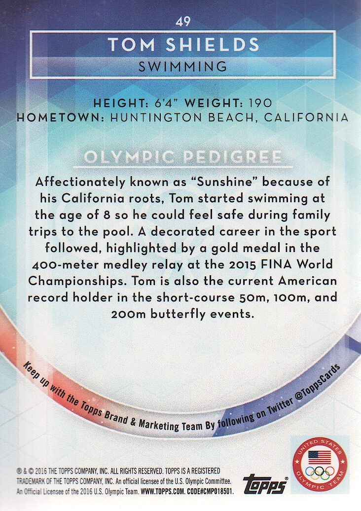 2016-Topps-U-S-Olympic-Team-Trading-Cards-Pick-From-List thumbnail 292