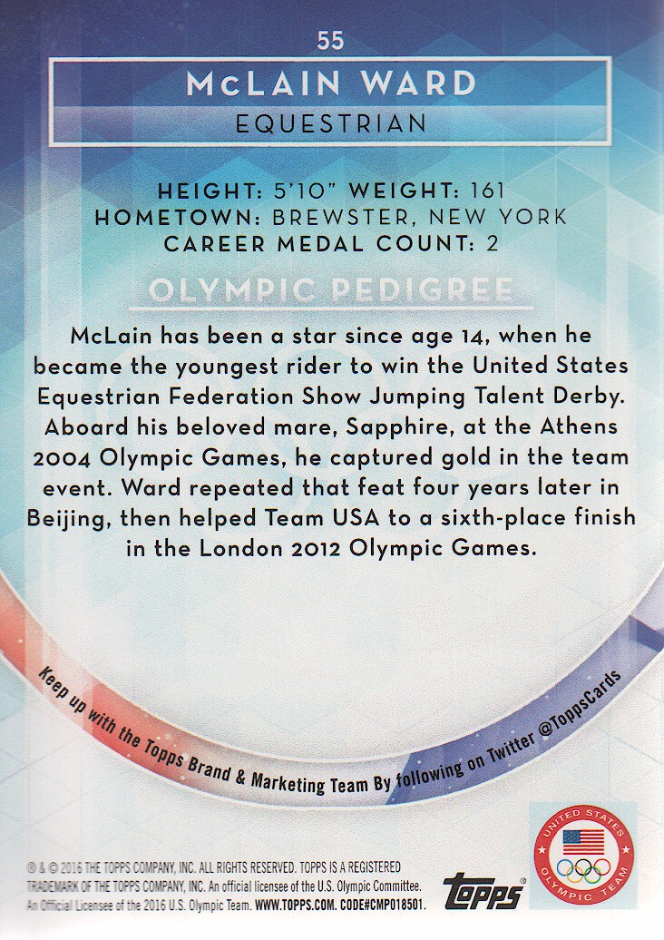 2016-Topps-U-S-Olympic-Team-Trading-Cards-Pick-From-List thumbnail 304