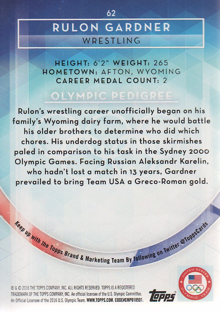 2016-Topps-U-S-Olympic-Team-Trading-Cards-Pick-From-List thumbnail 316