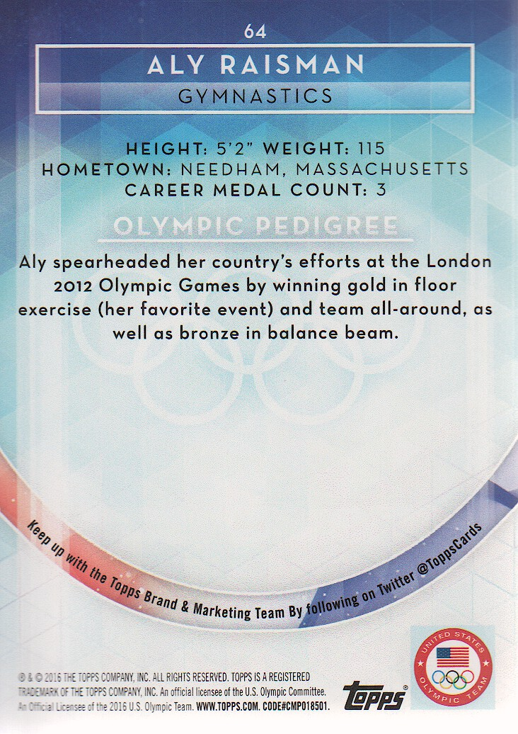 2016-Topps-U-S-Olympic-Team-Trading-Cards-Pick-From-List thumbnail 320