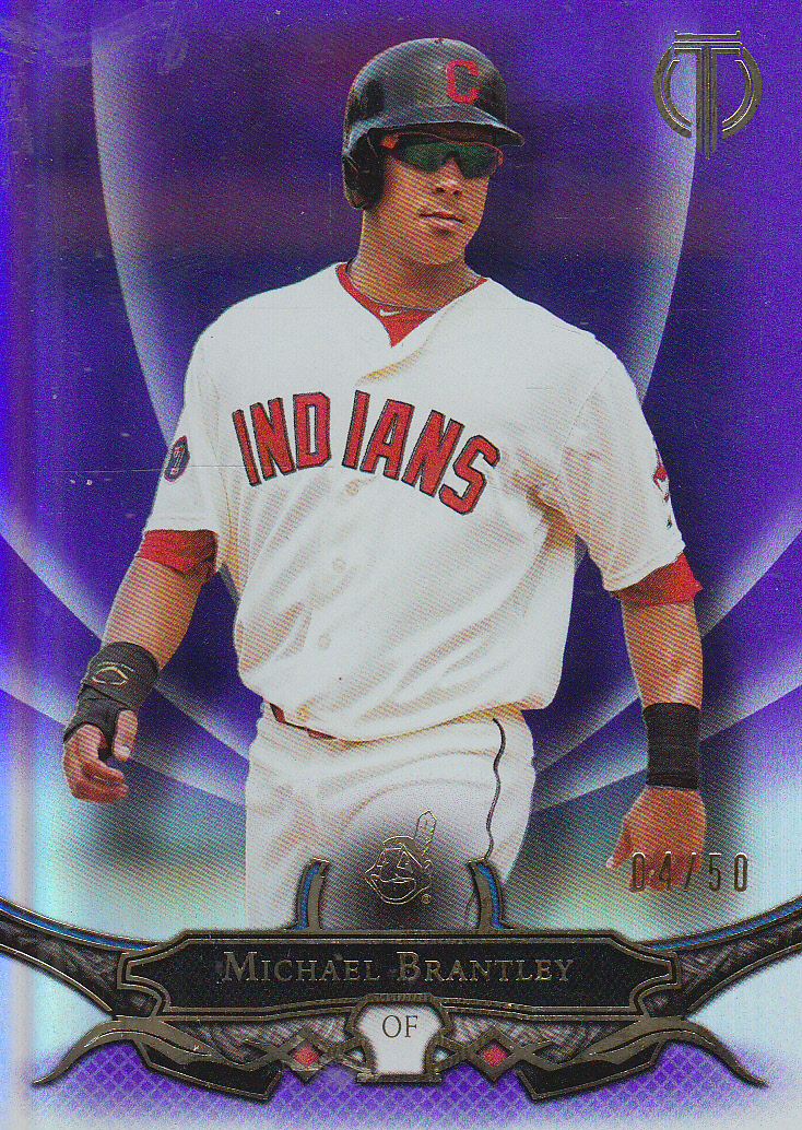 2016 Topps Tribute Purple #20 Michael Brantley