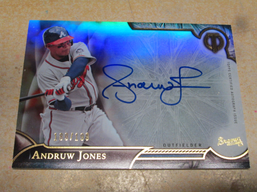 2016 Topps Tribute Autographs #TAAJ Andruw Jones/199