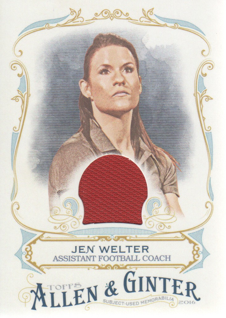 2016 Topps Allen and Ginter Relics #FSRAJW Jen Welter A
